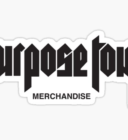Purpose Tour - Phone Case Sticker