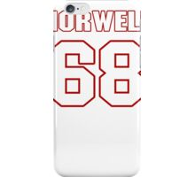 NFL Player Andrew Norwell sixtyeight 68 iPhone Case/Skin