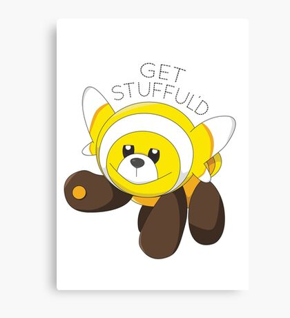 Get Stufful'd Canvas Print