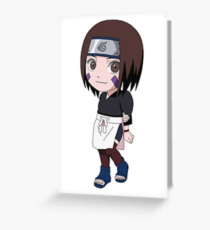 Naruto Rin Nohara Greeting Card