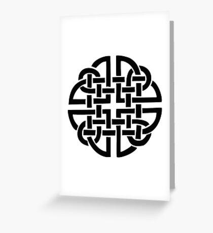 Celtic ornament 3 Greeting Card
