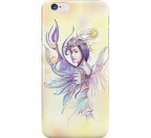 """THE CANCER""  - Protective Angel for Zodiac Sign iPhone Case/Skin"
