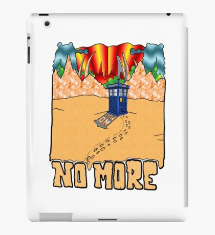 Doctor Who No More iPad Case/Skin