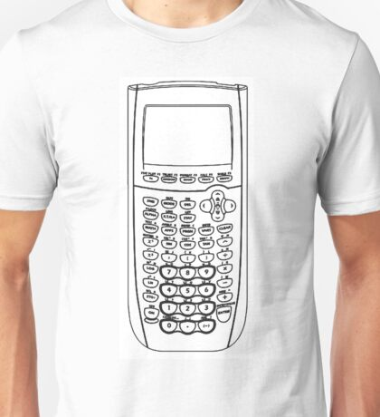 TI Calculator - Black Unisex T-Shirt