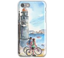 Collioure Town 01 iPhone Case/Skin