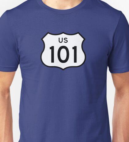 US Route 101 Sticker Unisex T-Shirt