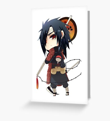 Naruto Madara Uchiwa Greeting Card