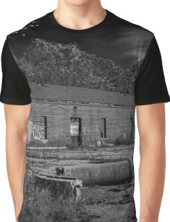 Abounded Garage Pilgrim Psychiatric Center | West Brentwood, New York Graphic T-Shirt