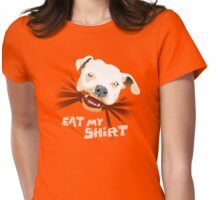 Eat My Shirt  Womens Fitted T-Shirt