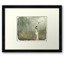 her cool demeanor Framed Print