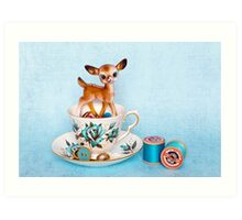 Crafty bambi Art Print