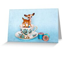 Crafty bambi Greeting Card