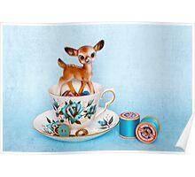 Crafty bambi Poster