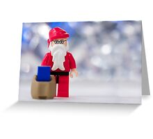 Lego Santa Claus Greeting Card