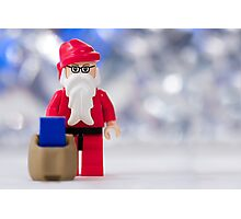 Lego Santa Claus Photographic Print