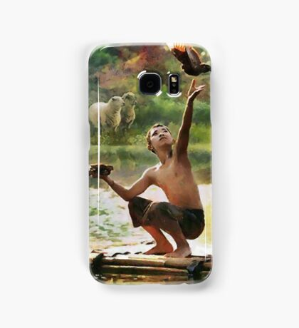 CM10452 - I love the nature Samsung Galaxy Case/Skin