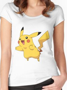 pika jump Women's Fitted Scoop T-Shirt