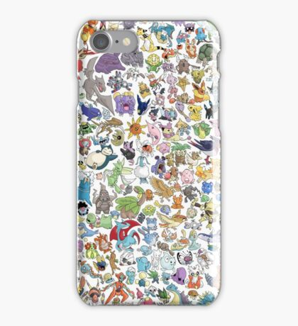 all poke iPhone Case/Skin