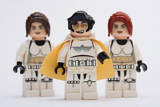 Elvis trooper with Fem-troopers by Kevin  Poulton - aka 'Sad Old Biker'