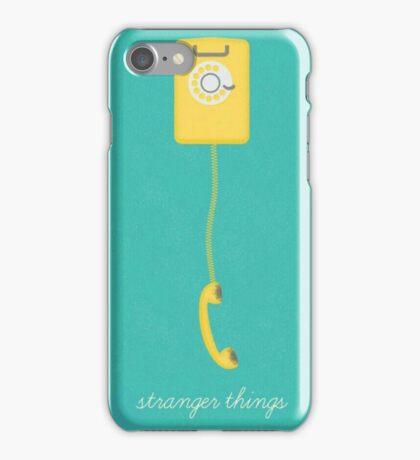 stranger things tv series iPhone Case/Skin
