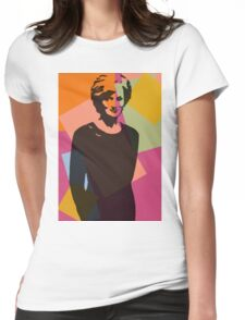 Princess Diana - Queen of Hearts Womens Fitted T-Shirt
