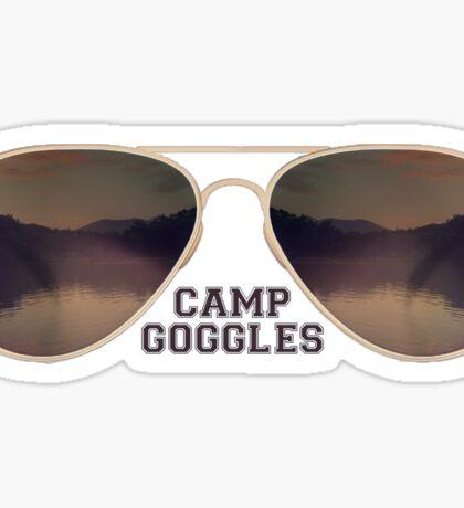 Camp Goggles Sticker