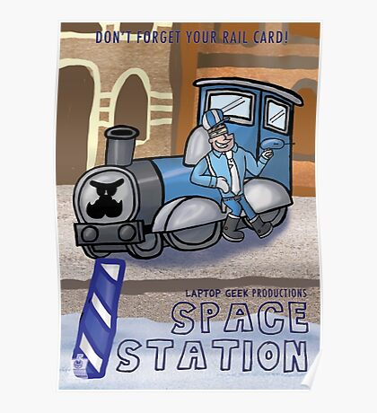 Space Station Pilot Poster Poster