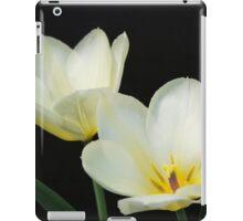 Two White Tulips iPad Case/Skin