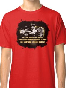 Back to the future ...with quote in italian Classic T-Shirt