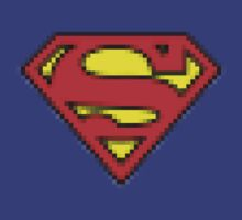 Superman 8 bits by shirtaddict