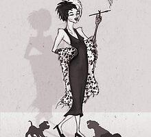 Cruella DeVille by Sam Pea