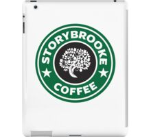 storybrooke coffee iPad Case/Skin