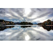 Loch Insh - Autumn afternoon Photographic Print