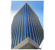 Long Tall Bank Windows Poster