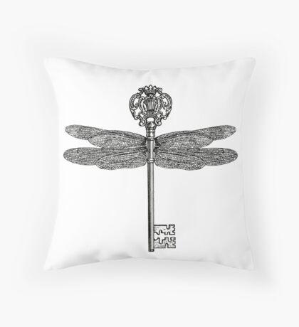 Flying Key - Harry Potter Sorcerer's/Philosopher's Stone Throw Pillow