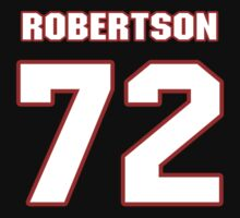 NFL Player Tracy Robertson seventytwo 72 by imsport