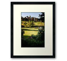 0298  Jenny's Garden Framed Print