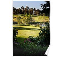 0298  Jenny's Garden Poster