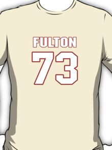 NFL Player Zach Fulton seventythree 73 T-Shirt