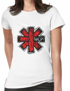 RHCP DUVET Womens Fitted T-Shirt