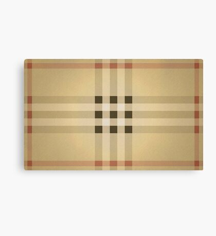 BURBERRY Canvas Print