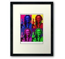 Rumpelstiltskin Pop-Art Framed Print