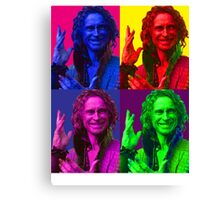 Rumpelstiltskin Pop-Art Canvas Print