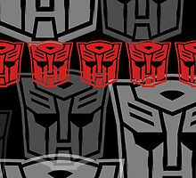 The Iconic Autobots (black) by Vitalitee
