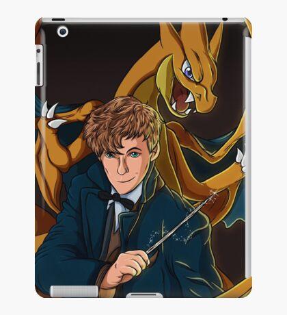 Newt Scamander - Wizard and Charizard Trainer iPad Case/Skin
