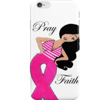 Breast Cancer T-Shirts iPhone Case/Skin