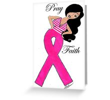 Breast Cancer T-Shirts Greeting Card