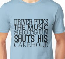Driver Picks The Music Unisex T-Shirt