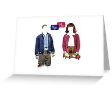 "Dogfight: The Musical — ""First Date, Last Night"" Greeting Card"
