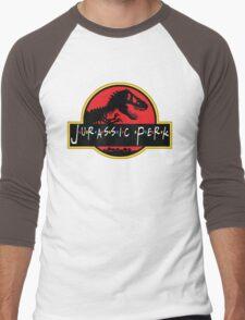 Jurassic Perk Men's Baseball ¾ T-Shirt